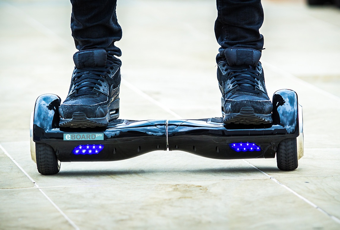 Me, myself and a Hoverboard