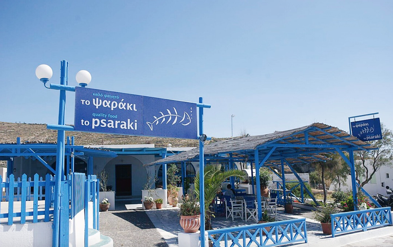 Psaraki, Santorini's best fresh fish tavern