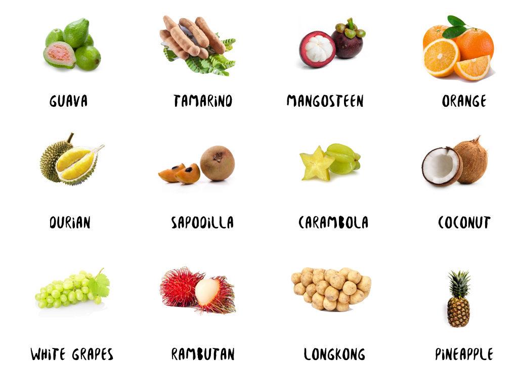 Thai Fruits